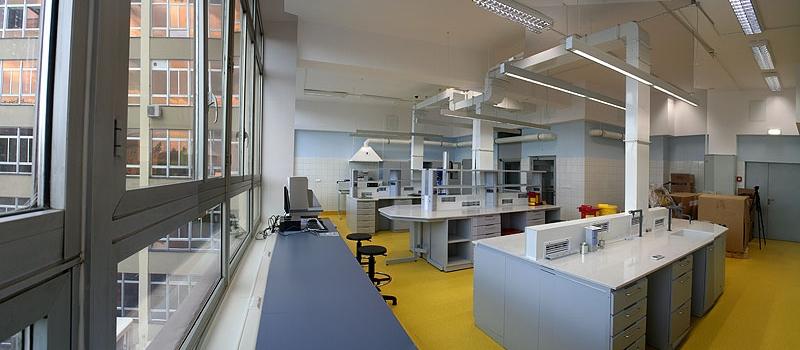 Pomieszczenia laboratoryjne